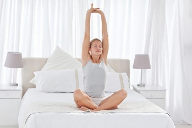 Утренняя гимнастика в постели